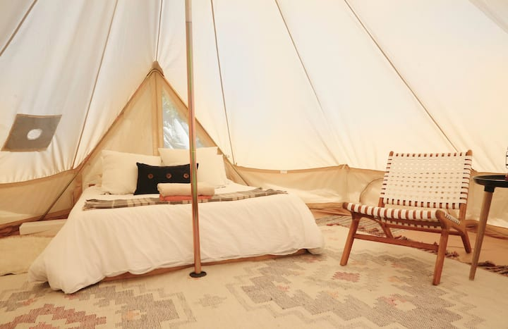 Stargazer Upstate glamping at Gatherwild Ranch
