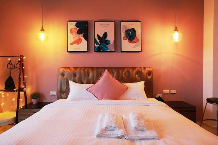 簡單旅宿・Easy Inn-高雅二人房