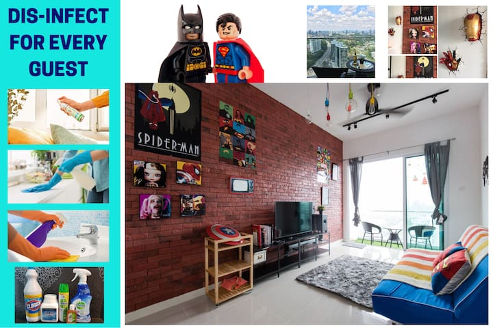 ★40% Discount MARVEL SUPERHERO fun experience home