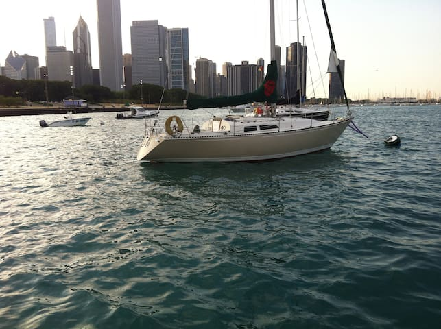 Private sailboat, Harmony - Chicago - Barco
