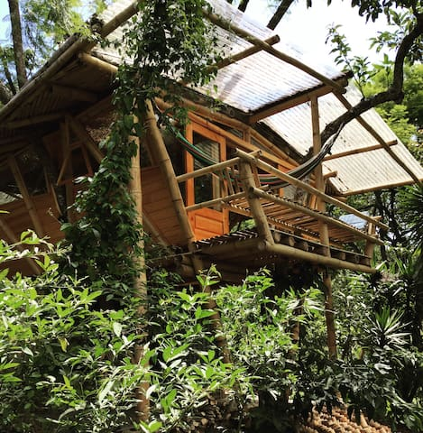 The Treehouse at Casa Motmot - San Pedro La Laguna - บ้านต้นไม้
