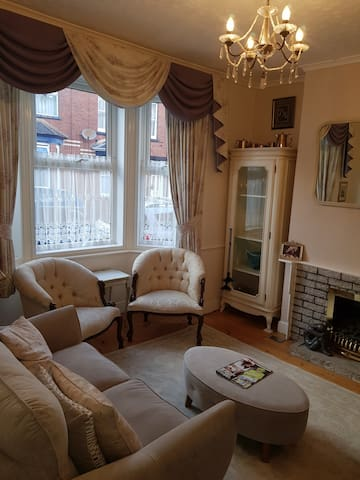 Room in a great location, bursting with character