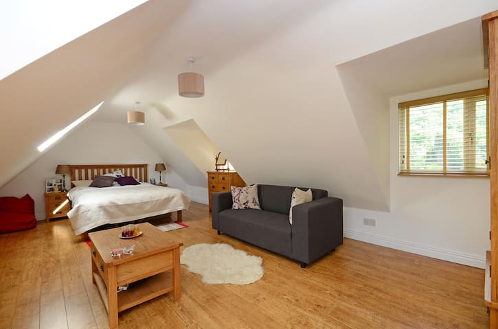Beautiful annex set within 1/2 acre of gardens - Sheffield - Apartment