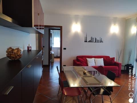 appartamento con terrazzo a biella