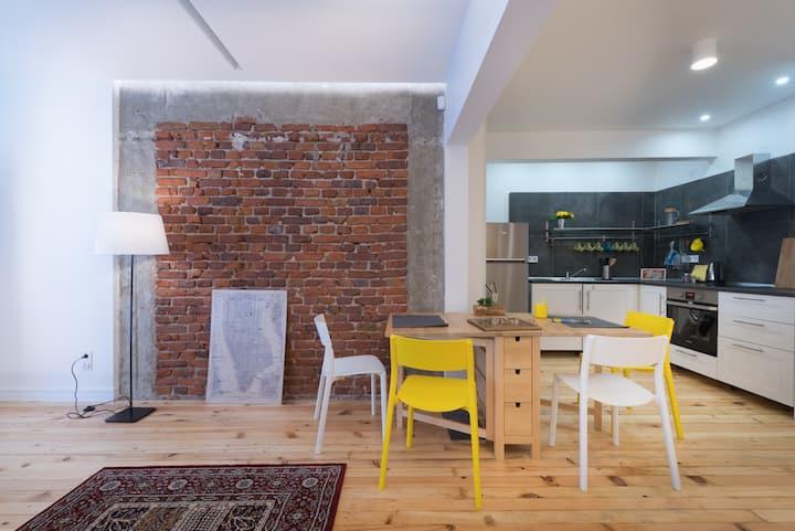 Yellow Apartment.