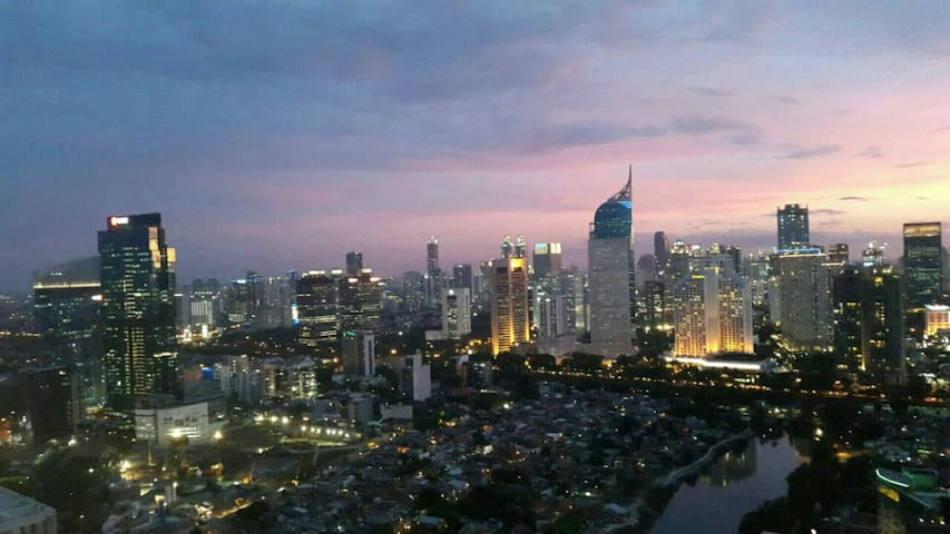 Sudirman Central Downtown CBD Prime Location Apt - Jacarta Central - Apartamento