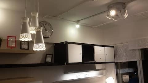Cozy Scandinavian Home for 6 guests