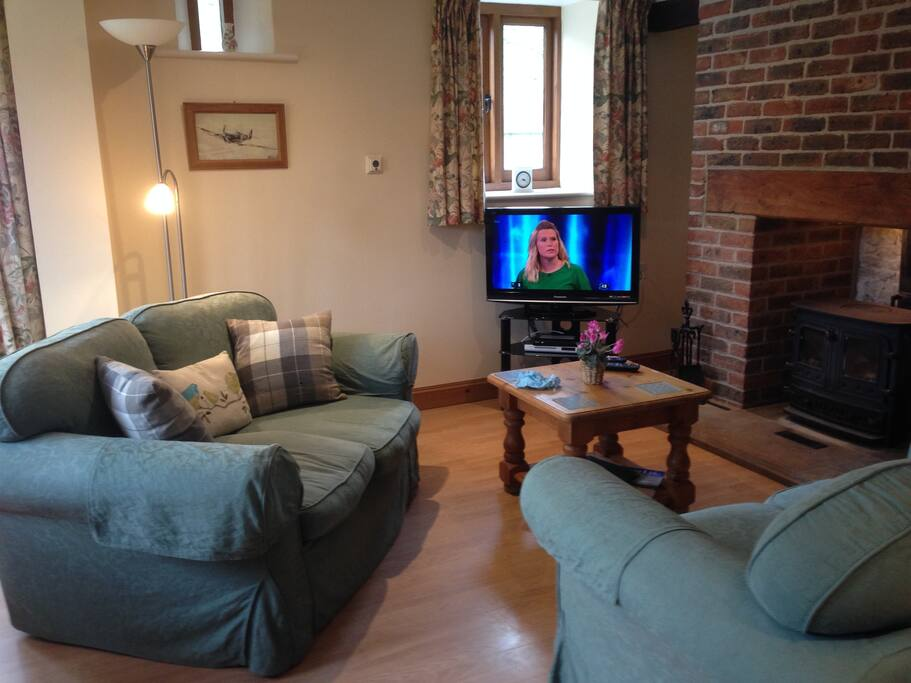 Freeview TV/DVD player.  Free logs available