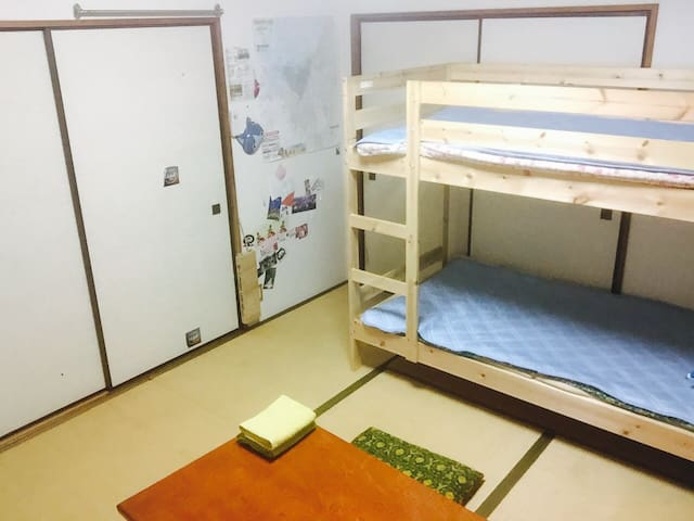 Bunk bed JP room for ANIMAL L♡VERS - Fukuoka - House