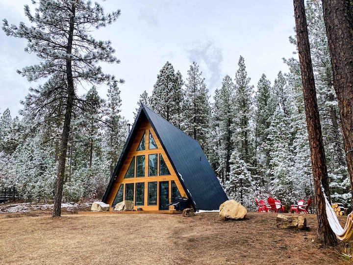 Röra Haus - A Modern, Mountain A-frame