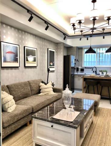 獨立的客廳空間