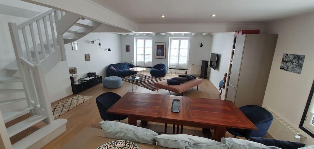 Duplex de charme - cœur de Bayonne - 6 couchages