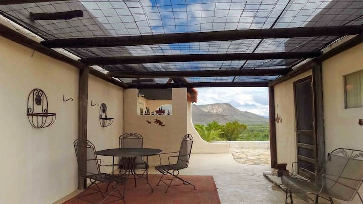 Desert Aura: Southwest Adobe & Detached Guesthouse