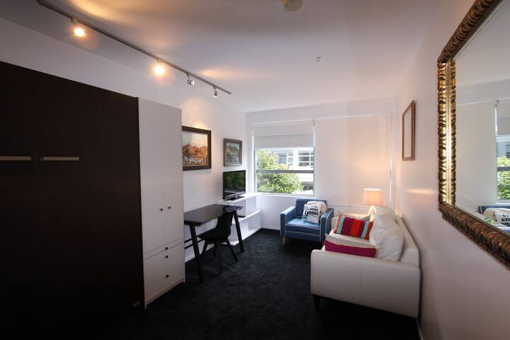 Studio space - light, comfortable, tasteful furnishings