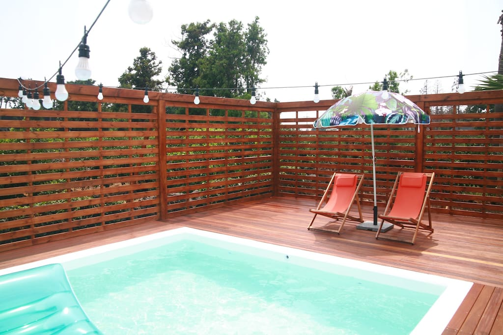 4x10M outdoor swimming pool from July til October