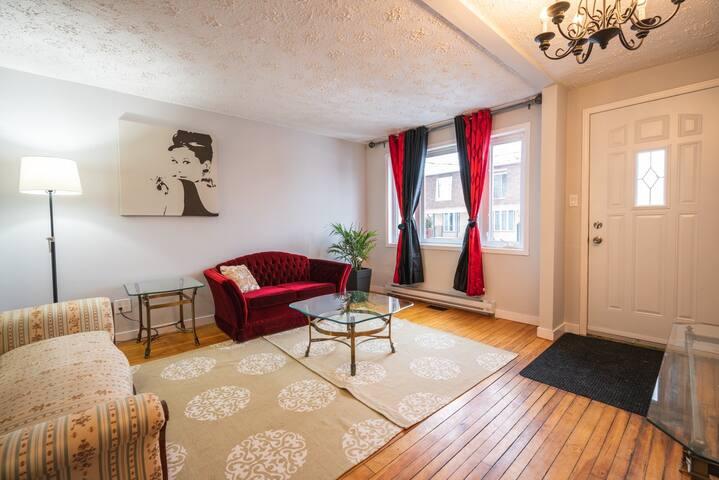 Appartement boudoir