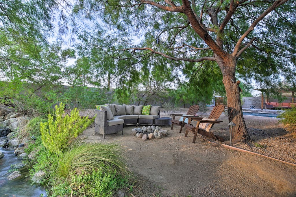 Discover a private outdoor oasis right here in your backyard.