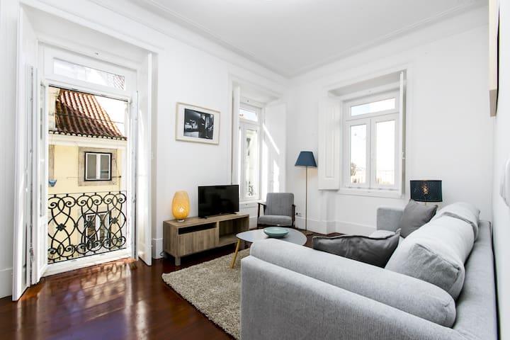 Appartement de charme au centre de Lisbonne