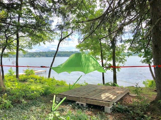 Tree Tent #2 @ The Silverlaken Estate