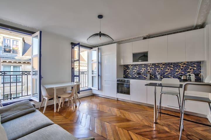 Très bel appartement central entièrement rénové