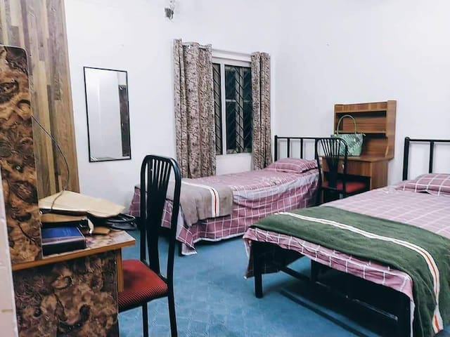 Harem female guest house only for female.