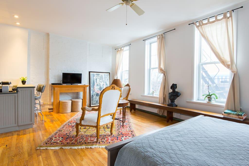Sunny studio in brooklyn apartamentos en alquiler en brooklyn nueva york estados unidos - Apartamentos alquiler nueva york ...