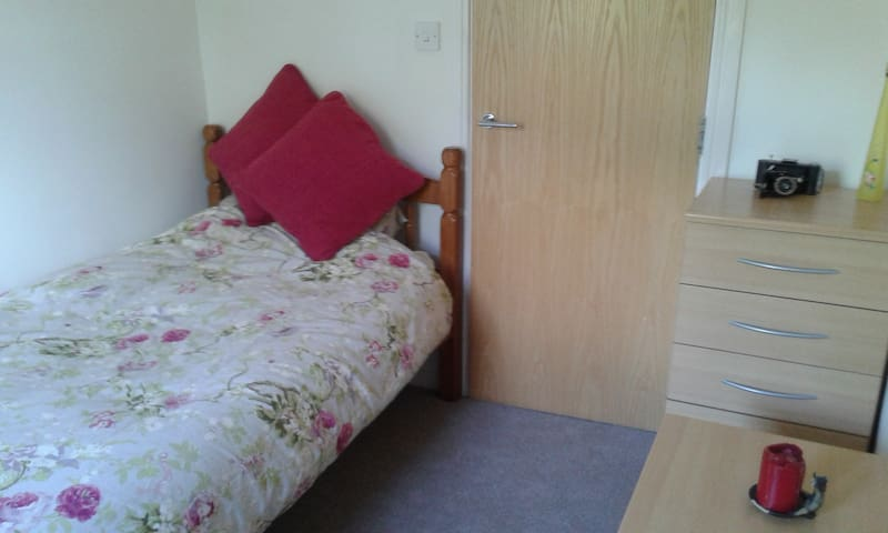 Lovely single room close to great transport links