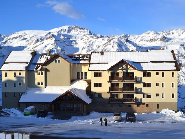 2B/2B Apartment in Valle Nevado Ski Resort