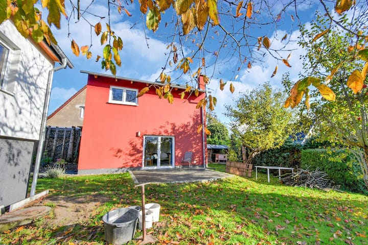 Modern vakantiehuis in Gustow dicht bij de Baltische Zee