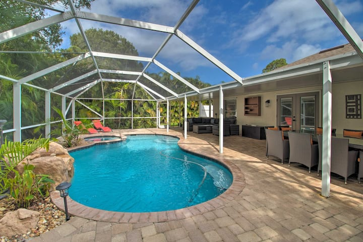 NEW! Luxe Coastal Home - 11Mi to Ft. Pierce Inlet!