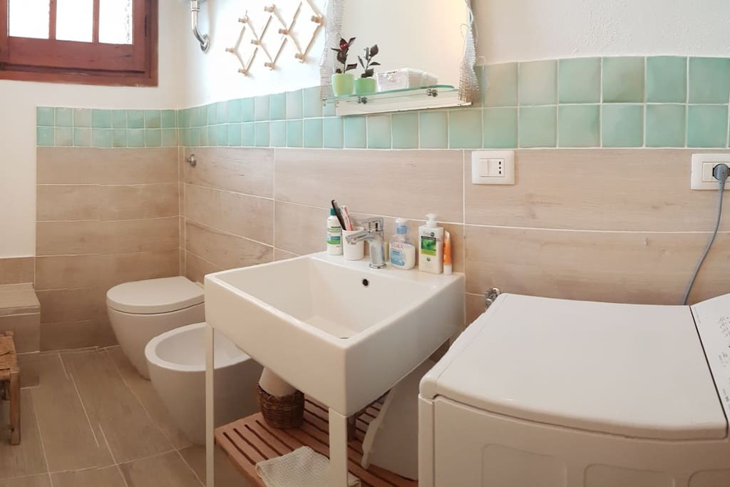 Toilet with Washingmachine