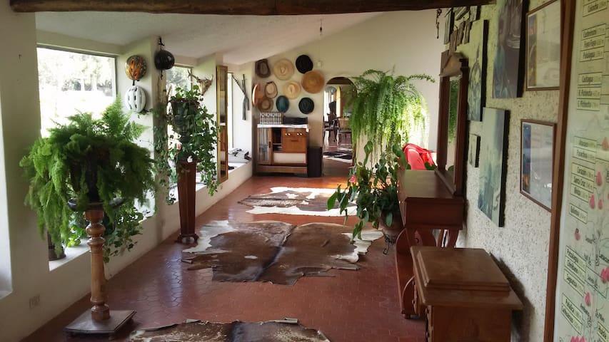 Vista al Cotopaxi - Tanicuchí - Haus