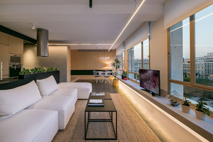 Elegant Brand New Loft in the Heart of Athens