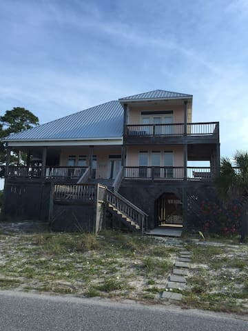 The porches - Dauphin Island - Casa
