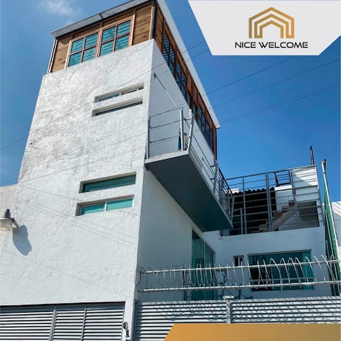 Excelente Suite en Nice Welcome, descubre Puebla 5