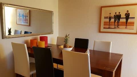 Schöne 3-Zimmer Wohnung mit Gartenhaus-Benutzung