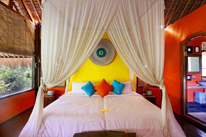 Ubud - Malashree Bali Room - จิอันยาร์ - ที่พักพร้อมอาหารเช้า