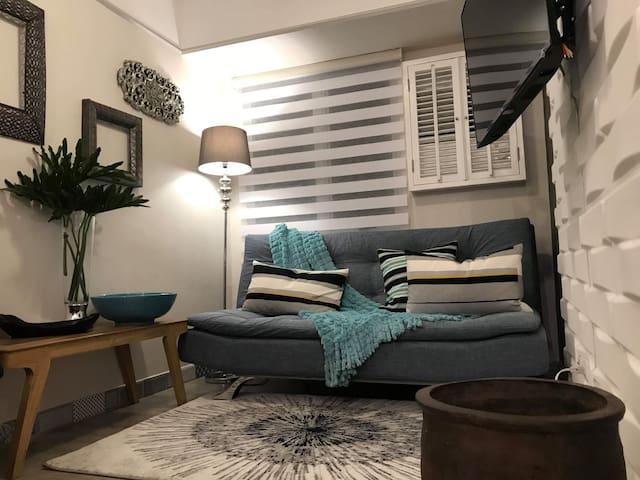 Cozy one bedroom that spells avant-garde