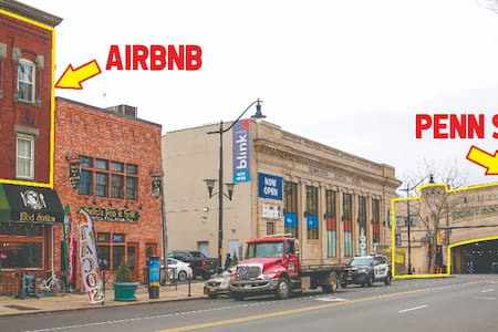 Excellent Location! Steps to Newark Penn Station!