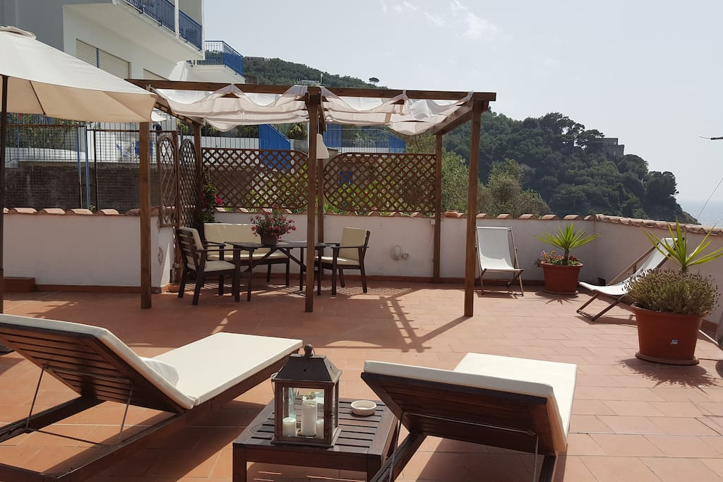 terrace on the top  for guest exclusive use
