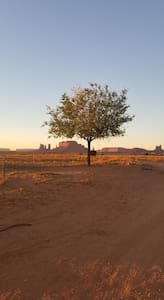 North view of Monument Valley, private Octagon