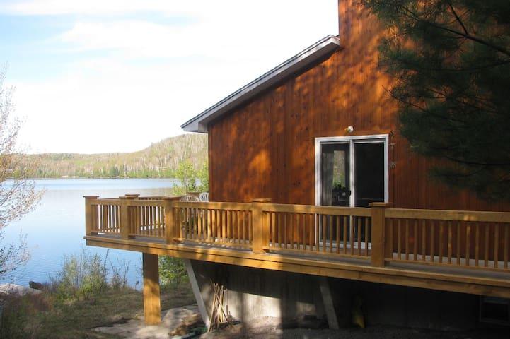 Le chalet du lac - Entrelacs - Chalet