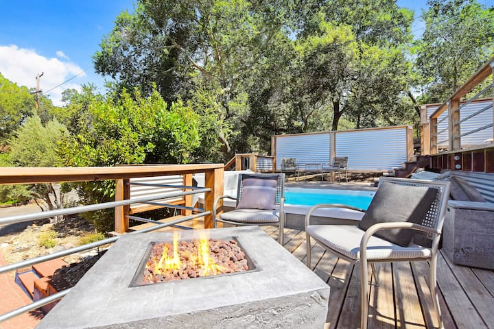 Wine Country Sonoma Summer Home