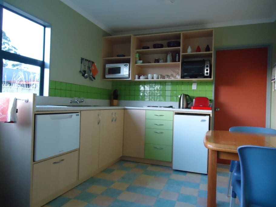Fully self contained with great wee kitchen