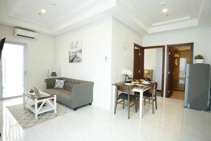 Brand New Fully Furnished 2 BR and 1 Bath Apt