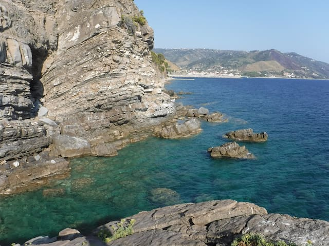 Apartment on the sea in the Cilento National Park