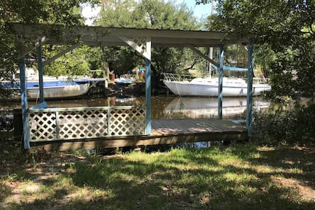 Affordable Waterfront w/ Bayou Access/fishing A