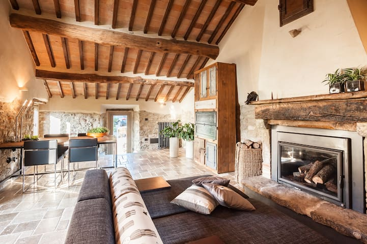 Tofanello Luxurious Spacious Heaven - Monte Santa Maria Tiberina - House