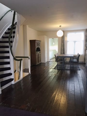 Charming apartm. from 1880 in the Pijp, 100 sqm.