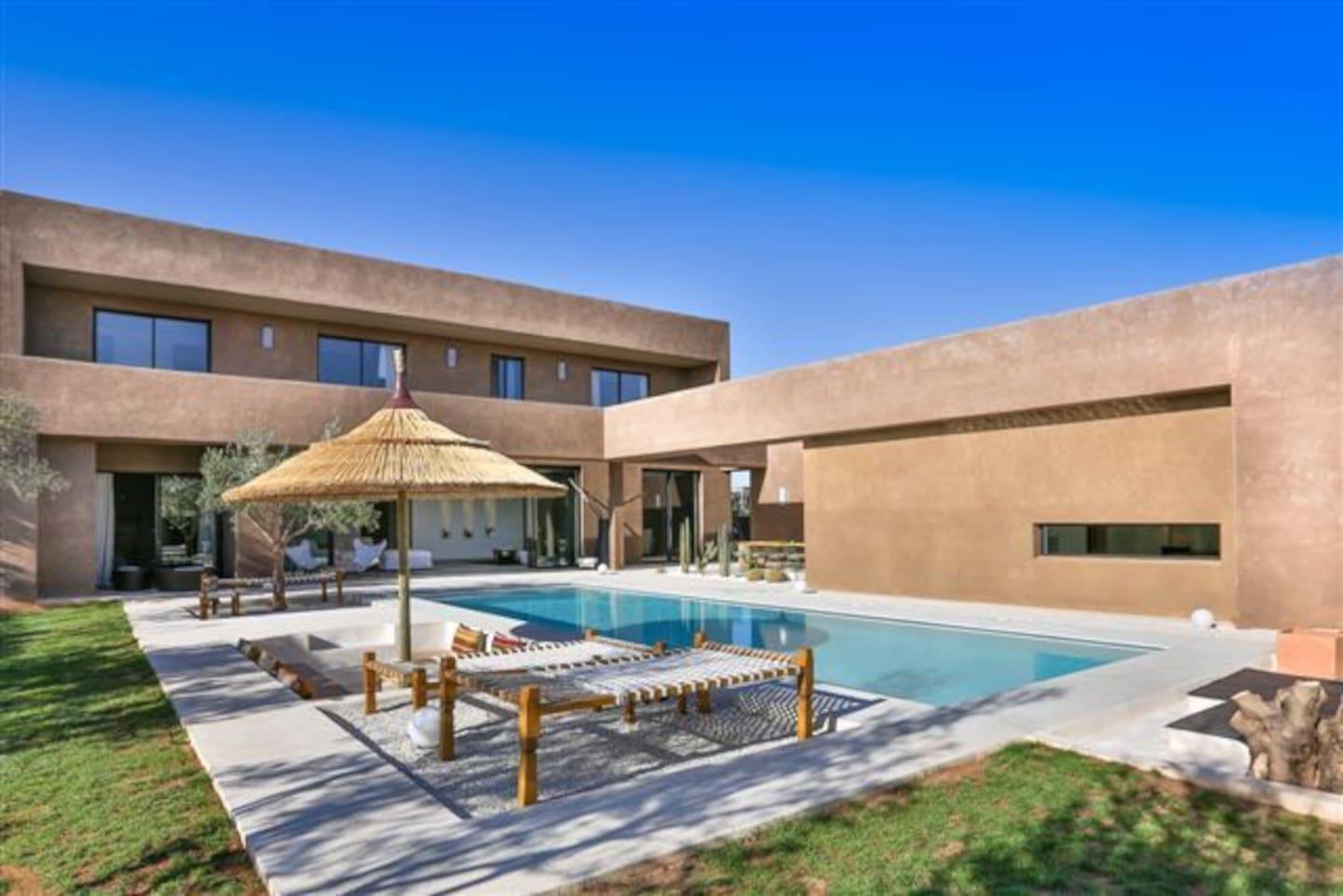 THE VILLA ANOUCK - Villas for Rent in Marrakech, Marrakech-Tensift ...